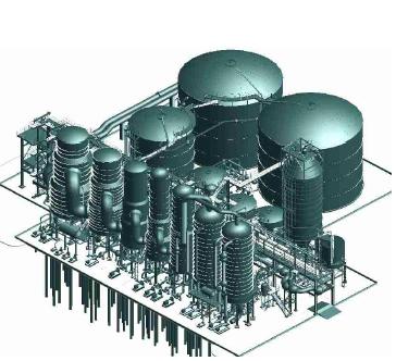 Equipamentos: Evaporação – 1.740 t/h – CMPC Fase II